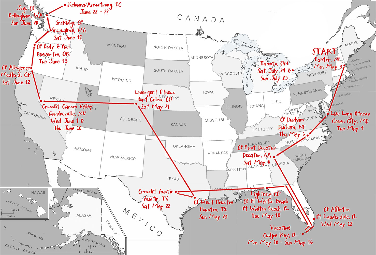 map of road trip 660x446jpg