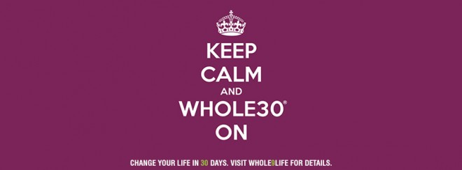 Whole30 Facebook Cover Photo