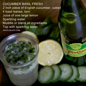 Cucumber Basil Fresh