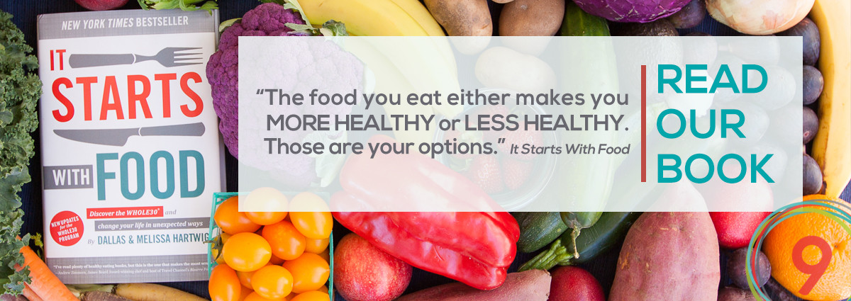 Whole9′s Book: It Starts With Food