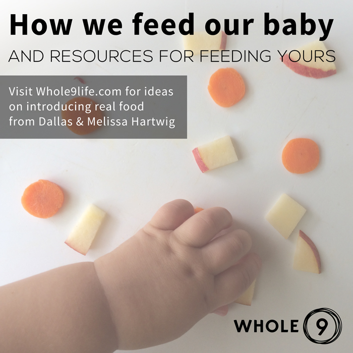 feeding baby solids