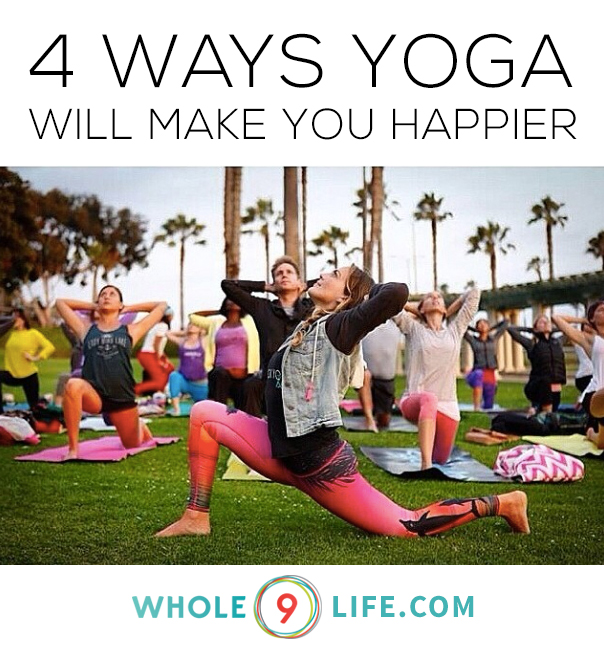 yoga happier