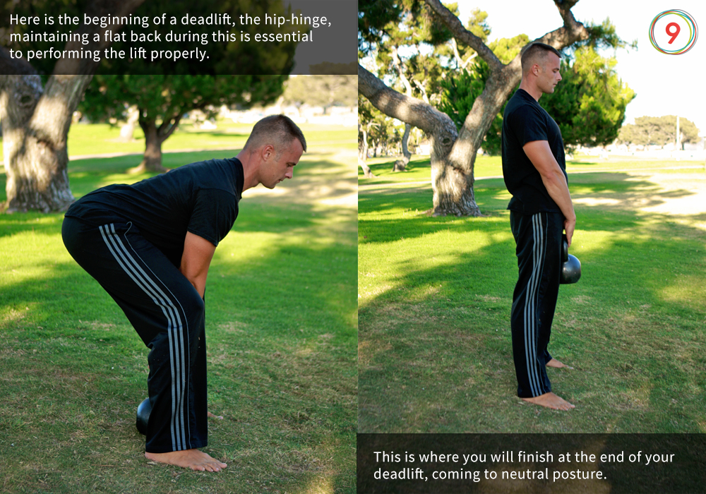kettlebell deadlift instruction