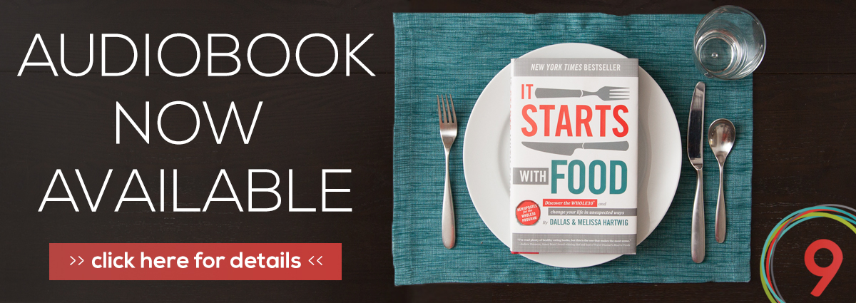 it starts with food audiobook now available