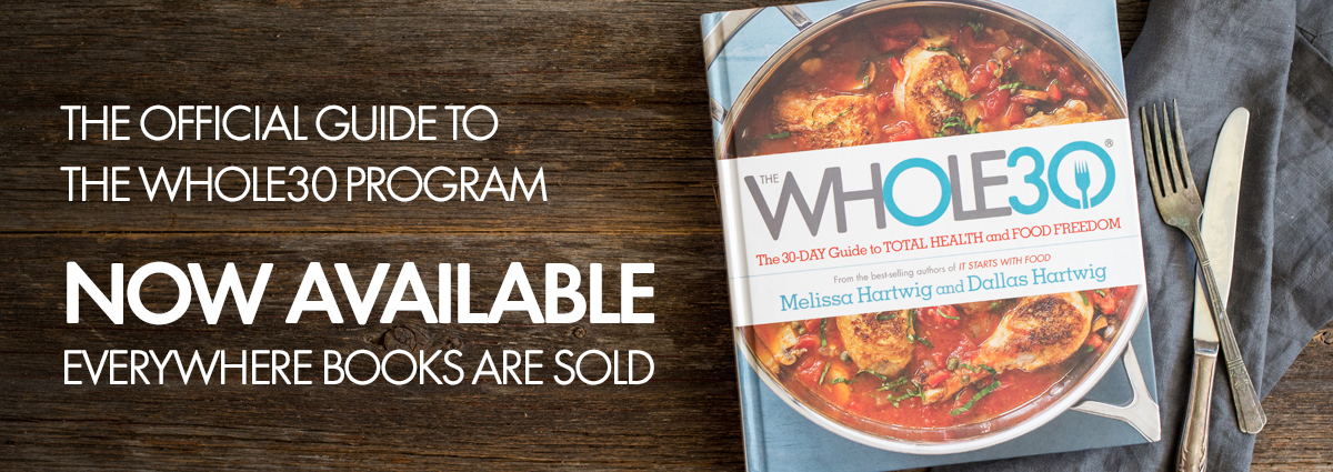 Whole30 Book page slider