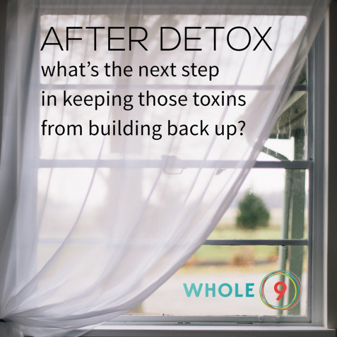 What to do after detox via Whole9life.com