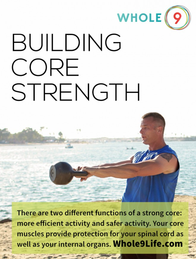 Build Core Strength via Whole9life.com