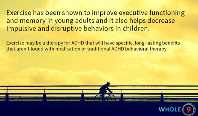 exercise adhd