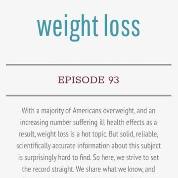 Weight Loss – The Living Experiment Podcast