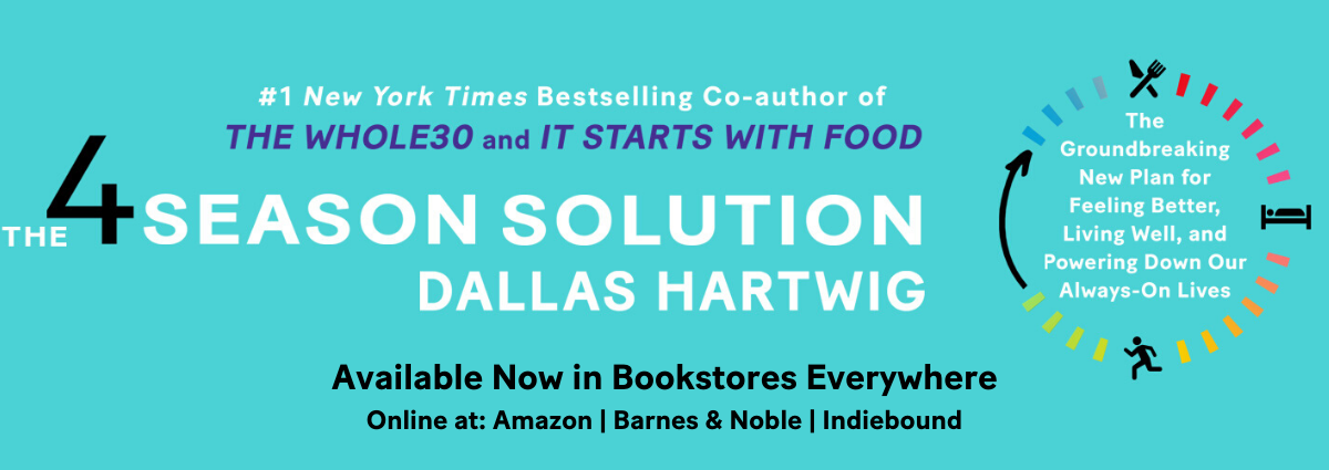 Order The 4 Season Solution Online - Dallas Hartwig's New Book
