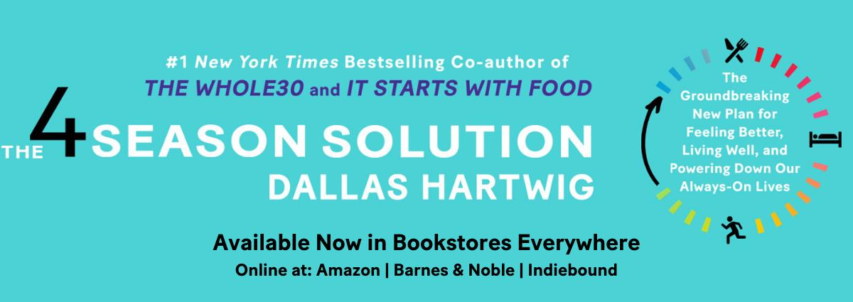 Order The 4 Season Solution Online - Dallas Hartwig's New Book